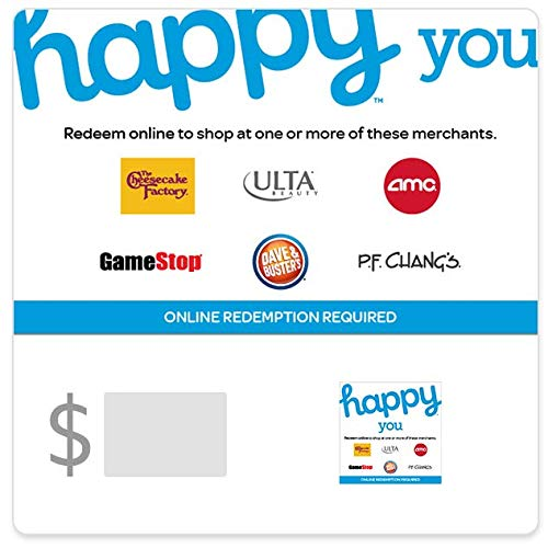 Buy $50, get $7.50 with code HAPPYYOUHAL at checkout