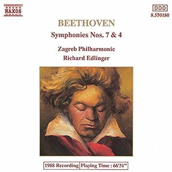 Beethoven: Symphonies Nos. 7 & 4