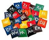 Champion Sports Alphabet Bean Bag Set in Multicolor