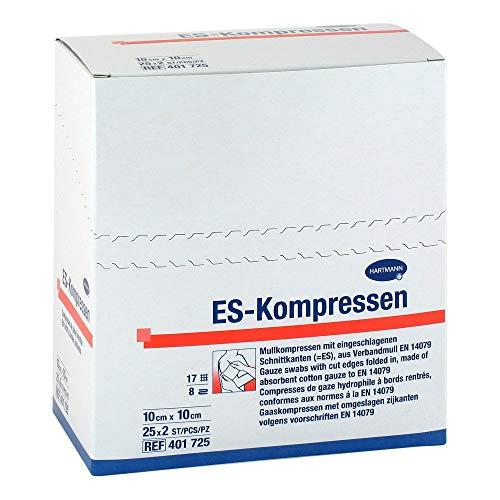 ES-KOMPRESSEN steril 10x10 cm 8fach CPC 25X2 St