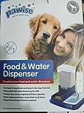 2 in 1 Futter- & Wasserspender Hund / Katze - Food & Water Dispenser