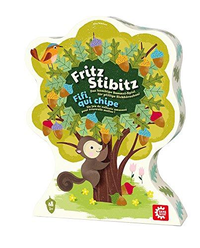 GAMEFACTORY 76144 646144 - Fritz Stibitz multilingual, 2 - 4 Spieler
