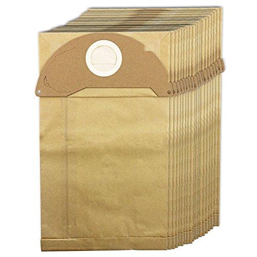 Spares2go - Sacchetti e filtro a cartuccia, per aspirapolvere Karcher (filtro, 20sacchetti, stick deodoranti opzionali) 20 sacchetti