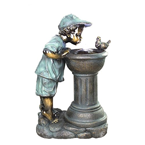 Beckett Corporation Sharing The Water Fountain with Pump, Gray