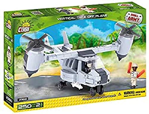 COBI 2360 - VTOL Vertical Take Off Plane, Konstruktionsspielzeug, grau
