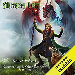 The Sorcerer's Quest audiobook cover art