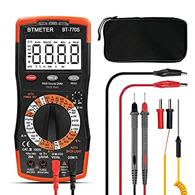 BTMETER BT-770M/S Auto Manual Ranging Optional True RMS Multimeter Tester