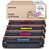 ZIPRINT Tóner compatible HP 131X/131A para hp Laserjet cp1515n HP Laserjet Pro 200 Color M251N M251NW M276NMW (HP CF210X CF211A CF212A CF213A)