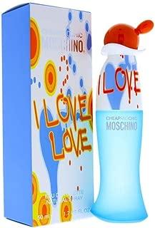 Moschino I Love Love Eau De Toilette Spray 50ml/1.7oz