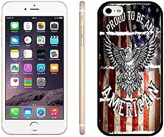 iPhone 6 Plus Case US Flag iPhone 6S Plus Case Scratch Resistant iPhone 6S Plus Thin Case Soft Protective Back iPhone 6 Plus Case Proud American Phone Case for iPhone 6 Plus/6S Plus