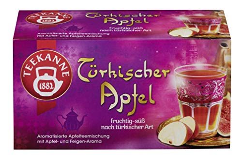Teekanne Türkischer Apfel 20 Beutel (55 g Packung)