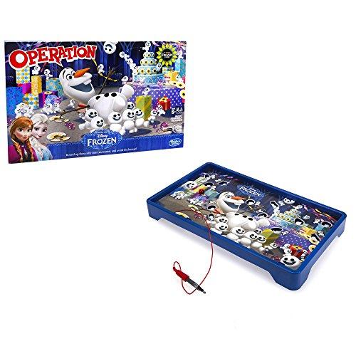 Hasbro Jeux b4504100 – La Reine des Neiges de Disney, Dr. Bibber, Jeu pour Enfants