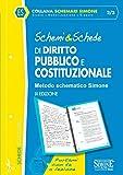 Schemi & schede di diritto pubblico e costituzionale...