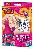 Craze Disney Soy Luna DreamWorks Trolls Tattoo Box 14 Bögen Kinder Klebe-Tattoos für Kinderparty 55886, Kindertattoo