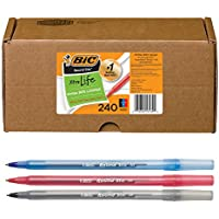 240-Count BIC Round Stic Xtra Life Ballpoint Pen