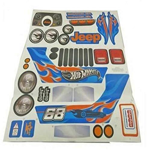 Pоwеr Whееls Cbg61 Jееp Wrangler Label Hot Wheels...