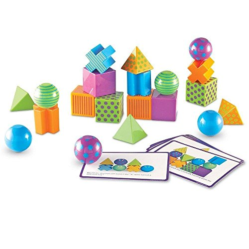 51fZlo9a9OL - Learning Resources Mental Blox Critical Thinking Game, Homeschool, Easter Basket Game, 20 Blocks, 20 Activity Cards, Ages 5+