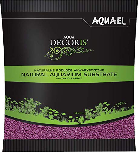 Aquael - Grava para acuariofilia (23 mm), Color Fucsia