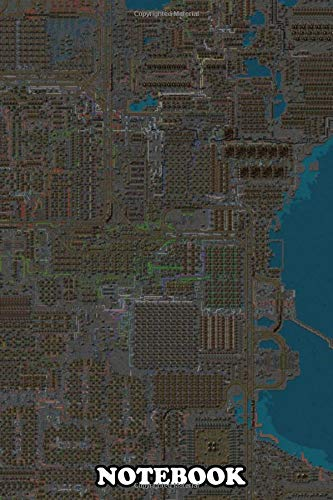 Notebook: Factorio Megaspaghettibase , Journal for Writing, College Ruled Size 6' x 9', 110 Pages