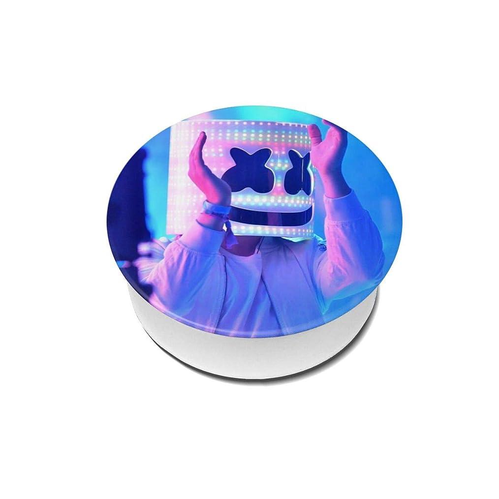 日学んだ侵入Yinian 4個入リ マシュメロ Marshmello スマホリング/スマホスタンド/スマホグリップ/スマホアクセサリー バンカーリング スマホ リング かわいい ホールドリング 薄型 スタンド機能 ホルダー 落下防止 軽い 各種他対応/iPhone/Android(2pcs入リ)