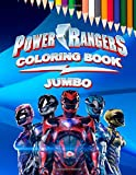 Power Rangers JUMBO Coloring Book: Coloring Book for Kids and Adults (Perfect for Children Ages 4-12)