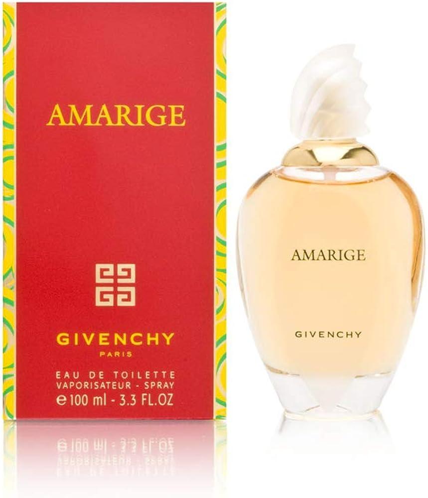 Givenchy amarige ,eau de toilette per donne,100 ml 3274878122561