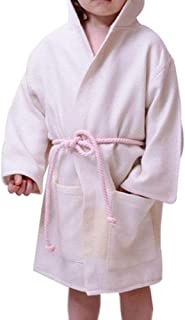 5f981eed52 Peshtemal Kids Bathrobe 100% Cotton Hand-loomed Turkish Towel Thin Light  and airy by