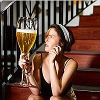 誕生日、クリスマスメガネのためのウイスキーカクテルビールカップを持つ巨大なワイングラス大赤または白ワイングラスバーパーティークラブバー用の器物 (Size : 2500ml)