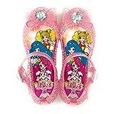 [コマリヨー] 4212 ヒーリングっど プリキュア リボン付 光る ガラスの靴 PK ピンク (19cm)