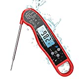 Meat Thermometer, Digital Instant Read Waterproof...
