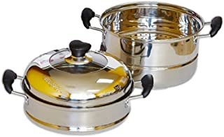 Home N Kitchenware Collection 34cm Stainless Steel Steam Pot (4-pieces)
