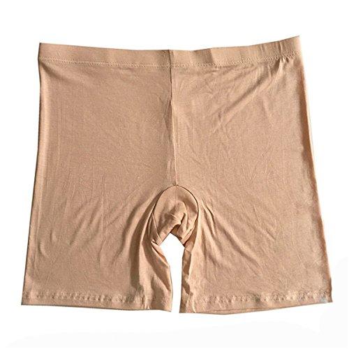 ECYC Chaussures De SéCurité éLastique pour Femmes Short Leggings Under Pantalons Shorts De Fond