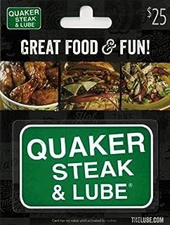 quaker steak and lube gift card