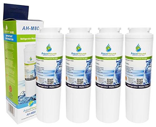 4x AquaHouse AH-M80 filtro de agua compatible para Maytag UKF8001, UKF8001AXX, PuriClean II PUR, Amana, Almirante, KitchenAid, Kenmore, filtro de refrigerador