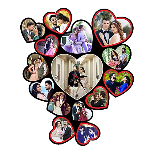 Shri Kanth Art® Customized Wooden Photo Frame Multicolored for Gifts and Home Decor (Style 13)