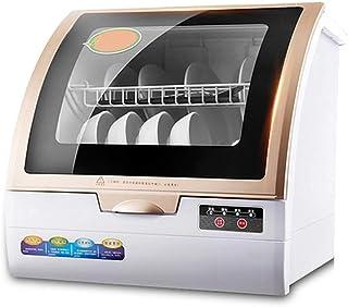 Lavavajillas Portatil|Lavaplatos Lavavajillas Lavavajillas Portátil Encimera Lavavajillas No Requiere Instalación Completamente Automática De Alta Temperatura Del Aire De Secado Esterilización Intelig