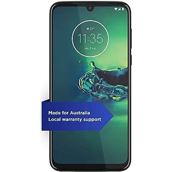 "Moto G8+ Plus with NFC (64GB, 4GB) 6.3"", Snapdragon 665, 48 MP Camera, 4000mAh Battery, Dual SIM GSM Unlocked (AT&T/T-Mobile/Metro/StraightTalk) XT2019-1 - International Version (Cosmic Blue)"