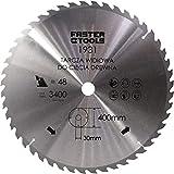 Lame de scie circulaire pour bois 400 x 30 mm avec 48 dents pour couper le bois de...