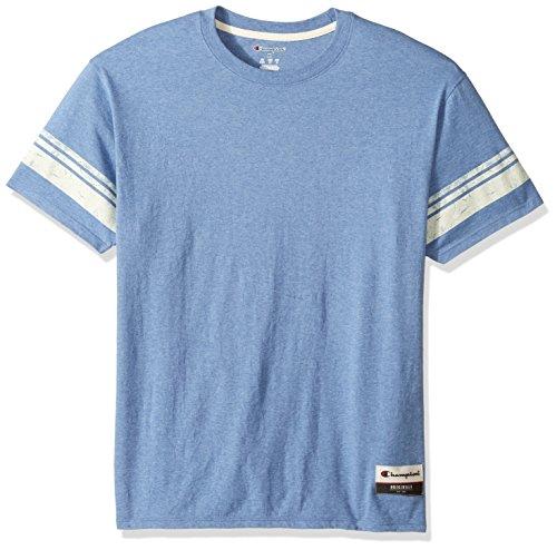 Champion Herren Authentic Originals Tri-Blend Short Sleeve Varsity Tee - Mehrfarbig - Mittel