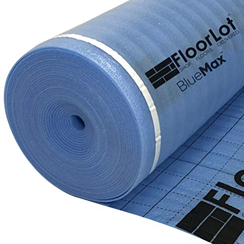 FLOORLOT SHOP. FLOORS. DELIVERED. BlueMax 200sqft 3mm Laminate Flooring 2X Double Moisture Barrier Underlayment