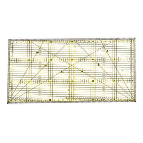Stoff Schneiderlineal DIY N/ähwerkzeug Starnear Quadratische Patchwork-F/ü/ße Schneiderma/ßstab