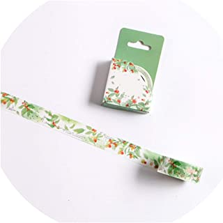 15/30mm Zoo Fruit Paper Decorative Masking Tapeese Stationery Crafts and Scrapbooking Cute Tape,K