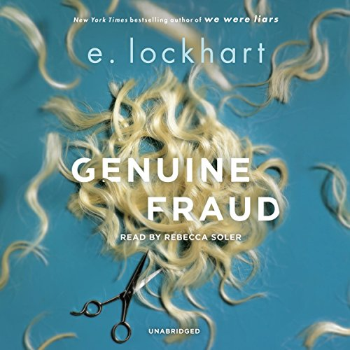 Genuine Fraud audiobook cover art