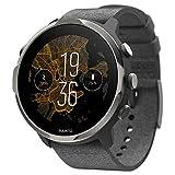 Suunto 7 Versatile Smartwatch con molte funzionalità e Wear OS by Google, Grafite (2 cinturini)
