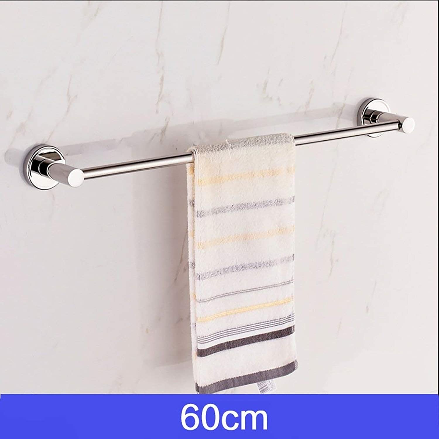 Towel Rack Stainless Steel Bathroom Single Towel Rack Bathroom 304 Stainless Steel Towel Bar (Size   100cm8cm) Bathroom Towel Shelf (Size   60cm8 cm)