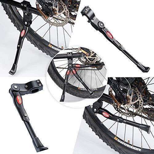 WATSABRO Fahrradständer Einstellbare Universal Fahrradständer Unterstützung für Fahrrad Mountainbike Rennrad mit Raddurchmesser 18 20 22 24 26 27 27,5 Zoll - 4