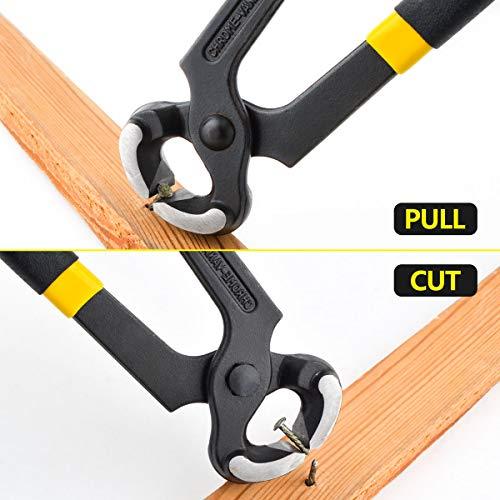 Gunpla Carpenters Pincers Cutting Pliers Nail Puller Tool 8 inch / 200mm