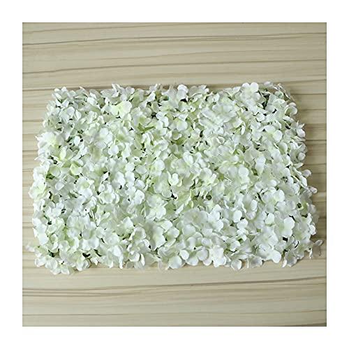 YNGJUENCP Paneles De Flores, 60x40cm (24'x16) Pantalla De Pared De Flores Artificiales para El Contexto Floral Romántico De La Foto De La Decoración del Hogar Fiesta De La Boda Fondo De La(Color:01)