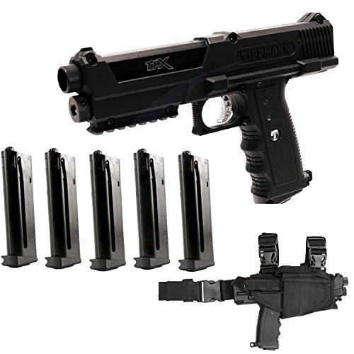 Tippmann TiPX Paintball Marker Pistol - GTA Holster - 2 Extra Mags
