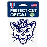 WinCraftt BYU Cougars Vault Logo 4 x 4 Inch Perfect Cut Decal